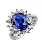 Strieborný prsteň princezny Kate - TXR903091