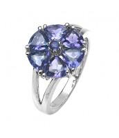 Dámsky prsteň s prírodným Iolitom RSG36051i - RSG36051i