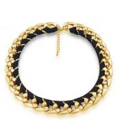 CHUNKY náhrdelník z akrylu - KMMN11890