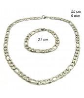 Oceľová súprava šperkov - 237585