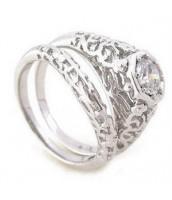 Súprava dvoch prsteňov R0159