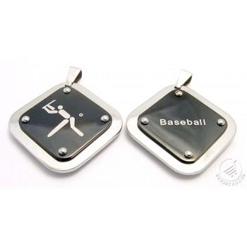 Prívesok z ocele baseball 233460M