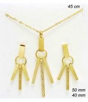 Oceľová súprava šperkov 237127