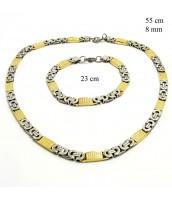 Súprava šperkov z ocele 237354
