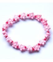 Darček na výber od 25 € - detský náramok ružové kvetinky