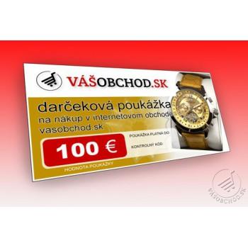 Darč. poukážka 100 EUR