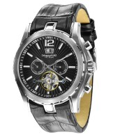 Calvaneo 1583 Density Steel Black Automatik