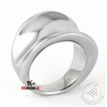 Oceľový prsteň leštený SSK14