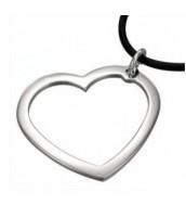 Oceľový prívesok - srdce