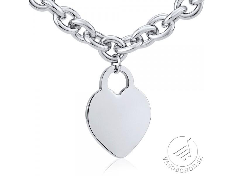 dc6f3a821 ... srdce KMMS50266; Set šperkov pre ženy z chirurgickej ocele náhrdelník a  náramok ...