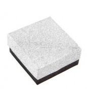 Darčeková krabička na šperky strieborno-čierna - DKR50
