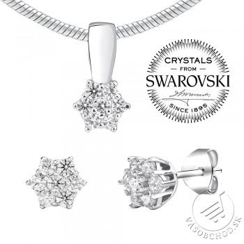 2cca8cc9b Strieborná súprava šperkov so Swarovski® Zirconia JJJS2338 ...