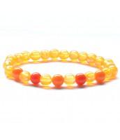 Oranžový korálková náramok - darček na výber od 25 €