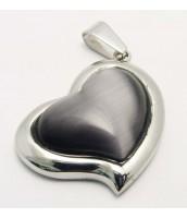 Prívesok z ocele srdce 233443