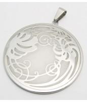 Prívesok z ocele s ornamentom 233505B