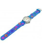 Detské hodinky 119752-07 - kvetinky