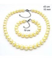Perlová súprava šperkov 237980E