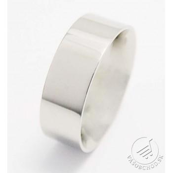 Oceľový prsteň leštený 232751A