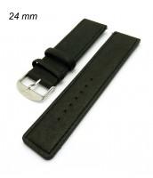 Remienok 24 mm - čierny - 210525C