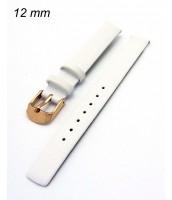 Remienok 12 mm - biely