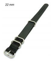 Remienok 22 mm - pravá koža - prevliekací - 10RE565
