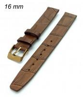 Remienok 16 mm - hnedý