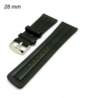 Remienok 28 mm - čierny
