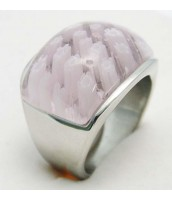 Oceľový prsteň Murano 233551A