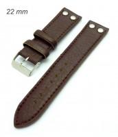 Remienok 22 mm - hnedý