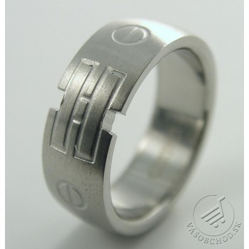 Prsteň z ocele 232173B