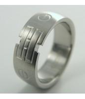 Prsteň z ocele - matný - 232173B