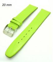 Bledozelený remienok na hodinky 20 mm - zelený
