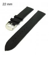 Remienok 22 mm - textilno-kožený - 10RE587C