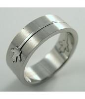 Oceľový prsteň 232732B