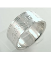 Prsteň z ocele so vzorom 232806A
