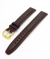 hnedý kožený remienok 16 a 18 mm - kožený - 335RE010A