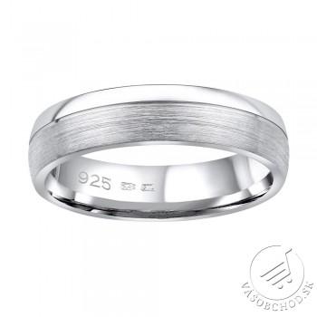 Strieborný prsteň PARADISE v prevedení bez kameňa pre mužov aj ženy - QRGN23M