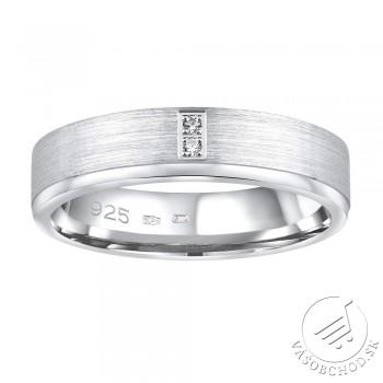 Strieborný prsteň MADEIRA v prevedení so zirkónom pre ženy - QRG4164W