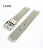 Remienok na hodinky 18 mm - oceľový - 210624