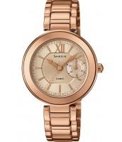 Dámske hodinky Casio SHE 3050PG-7A Swarovski