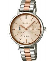 Dámske hodinky Casio SHE 3054SPG-4A Swarovski