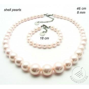 Perlová súprava šperkov 239120A
