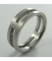 Oceľový prsteň 232186B
