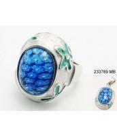 Oceľový prsteň Murano 233790A