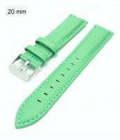 zelený remienok na hodinky 20 mm