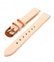 Ružový kožený remienok šírka 16 mm - dámsky