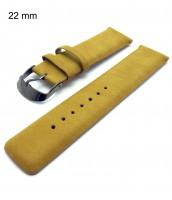 Bledohnedý remienok na hodinky šírka 22 mm