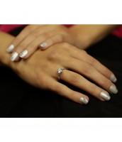 Strieborný prsteň PRINCESS so Swarovski® Zirconia - JJJR2987