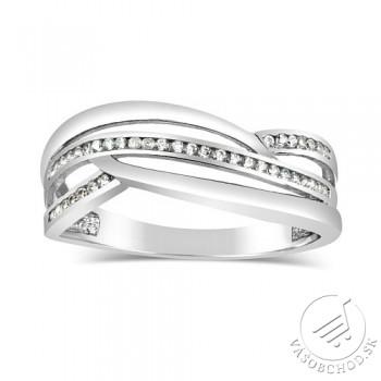 Dámsky strieborný prsteň MARISA so zirkónmi - DMSR0409