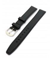 čierny kožený remienok 16 mm - 34RE701A